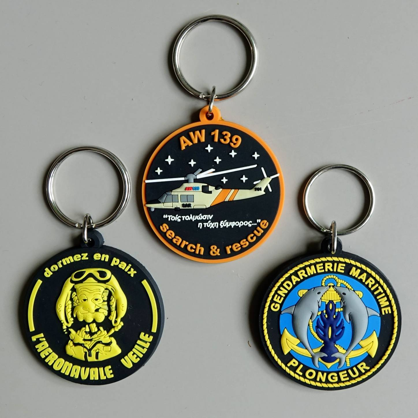 pvc key chains