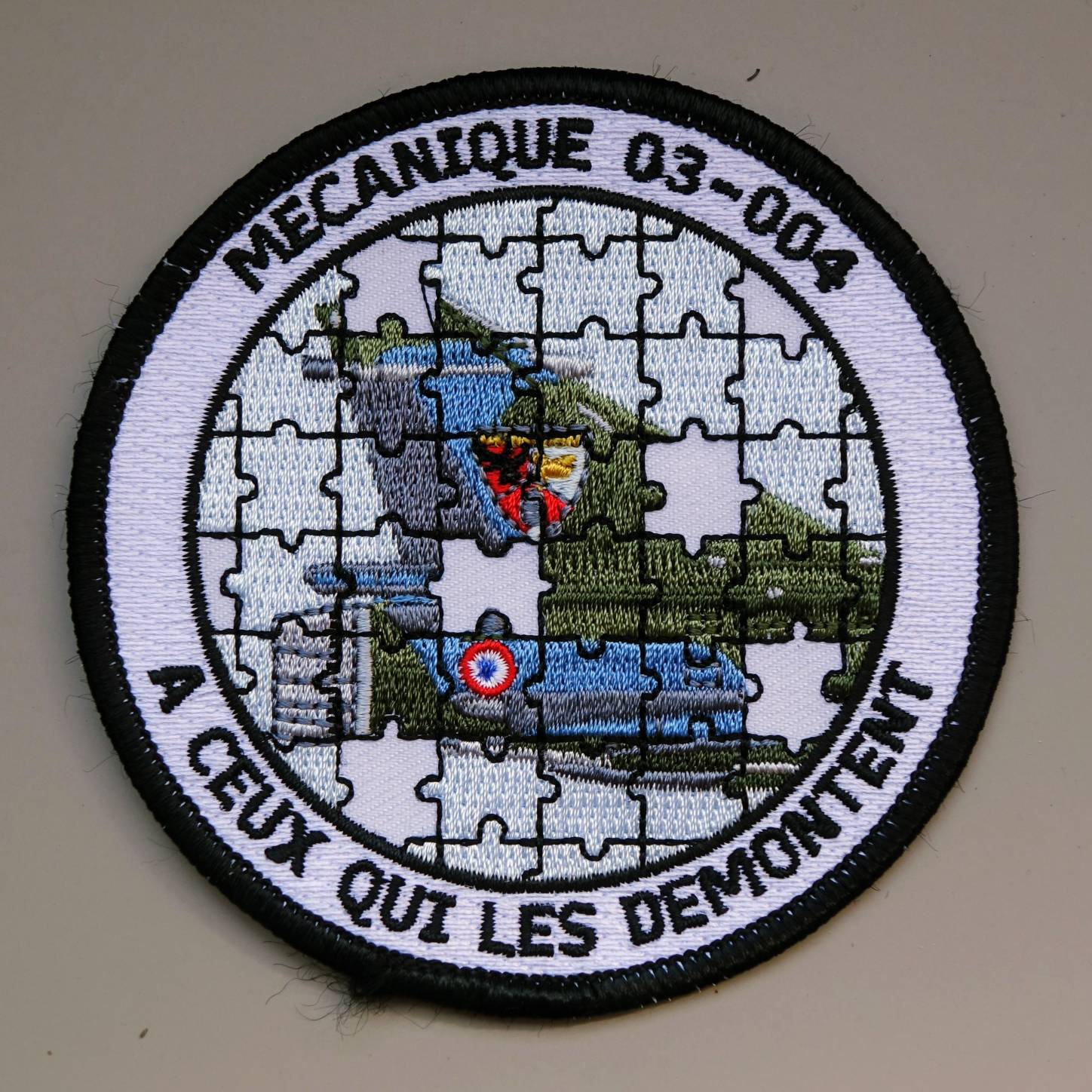 regular embroidered patch 1